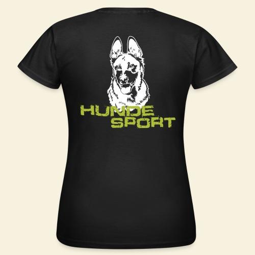 Hundesport-Malinois - Frauen T-Shirt
