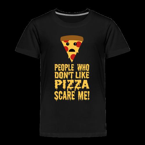 Lustiger Pizza Spruch Kinder T-Shirt - Kinder Premium T-Shirt
