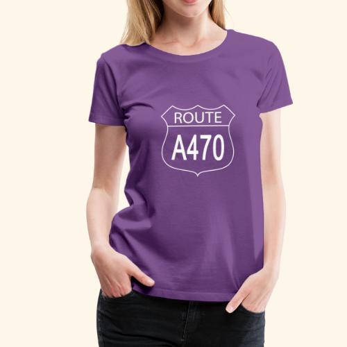 Ladies A470 Tee - Women's Premium T-Shirt