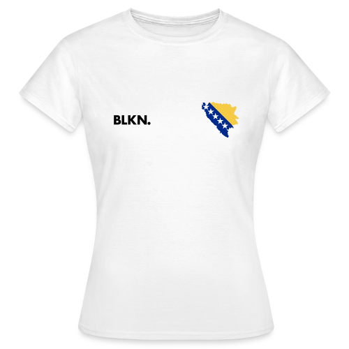 BLKN. x MAP (Bosnia) - Women's T-Shirt