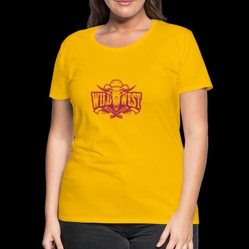Wild West - Camiseta premium mujer