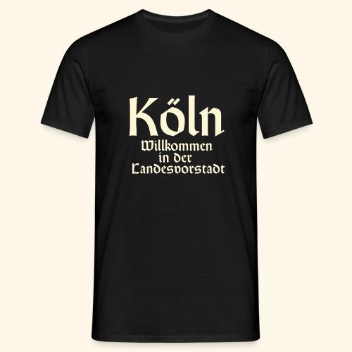 Köln T-Shirt für Düsseldorfer - Männer T-Shirt