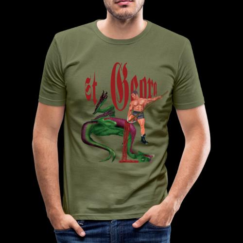 Mein Hamburg, mein Ottensen, mein Kiezshirt - Männer Slim Fit T-Shirt