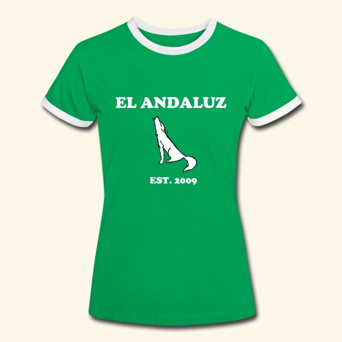 Frauen Vintageshirt - Frauen Kontrast-T-Shirt