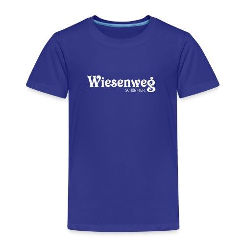Wiesenweg klassisch dunkel | Kind - Kinder Premium T-Shirt