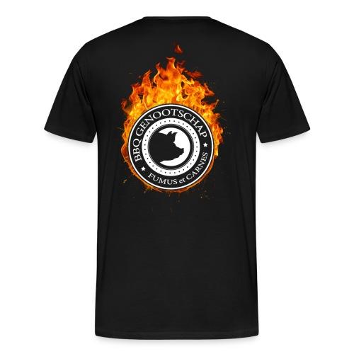 BBQ Genootschap Hot Autumn - Heren - Mannen Premium T-shirt