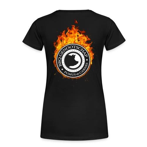 BBQ Genootschap Hot Autumn - Dames - Vrouwen Premium T-shirt