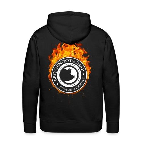 BBQ Genootschap Hooded Sweater - Heren - Mannen Premium hoodie