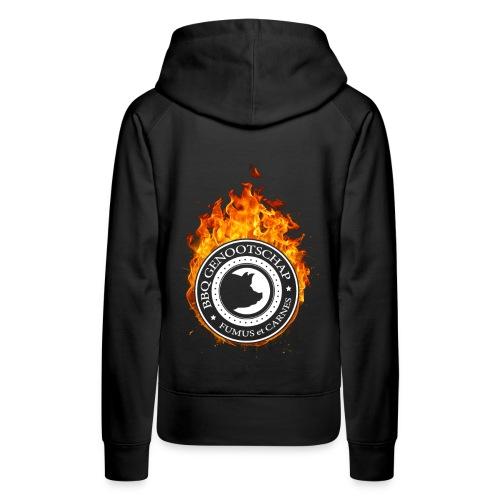 BBQ Genootschap Hooded Sweater - Dames - Vrouwen Premium hoodie