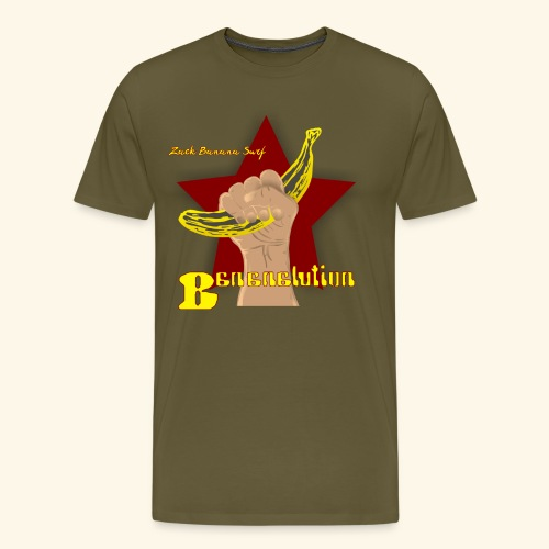 Zack Banana - Mens Bananalution T - Männer Premium T-Shirt