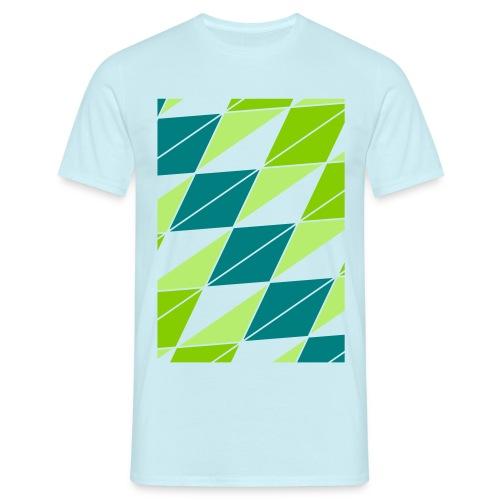 blau - Männer T-Shirt