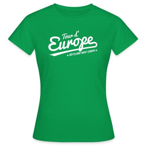 Tour d'Europe 2018 Damen-Shirt - Frauen T-Shirt