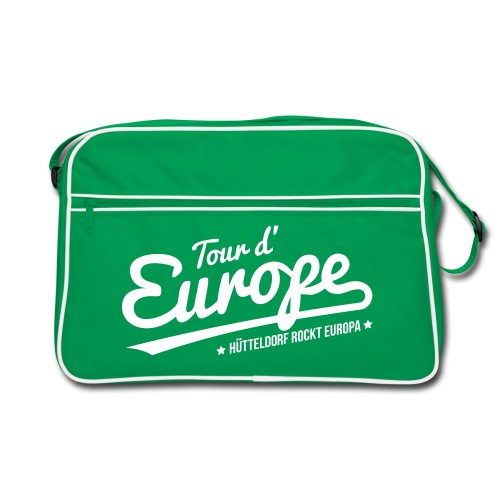 Tour d'Europe 2018 Retro-Tasche - Retro Tasche