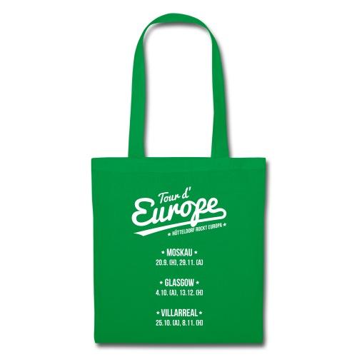 Tour d'Europe 2018 Stoffbeutel - Stoffbeutel