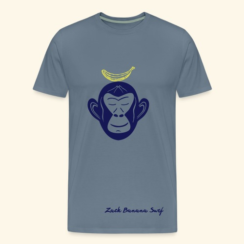 Zack Banana - Mens YogaT - Männer Premium T-Shirt