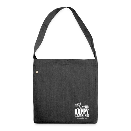 die HAPPY CAMPING Schultertasche - Schultertasche aus Recycling-Material