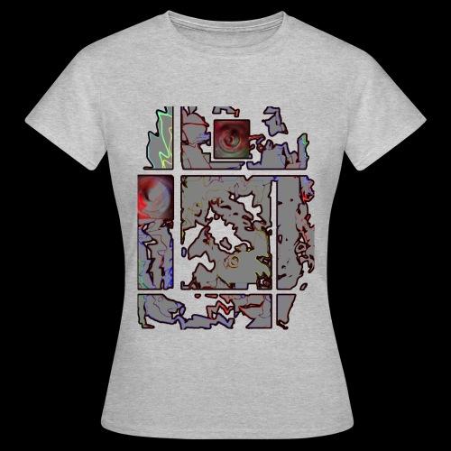 IRON-  t-shirt taglio classico -Donna- 100%cotone - Maglietta da donna