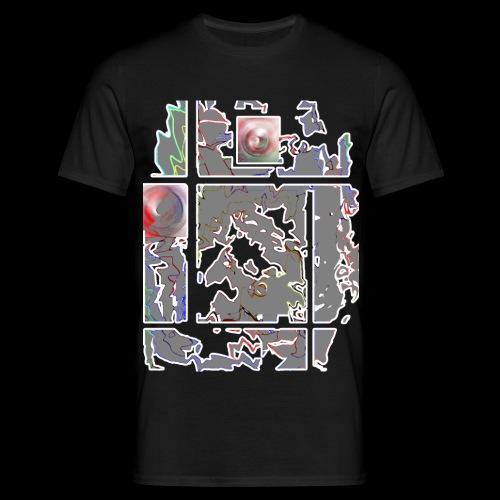 IRON-  t-shirt taglio classico - Uomo - 100%cotone - Maglietta da uomo