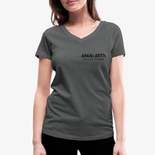 T-shirt_f ANIA'sARTh - Frauen Bio-T-Shirt mit V-Ausschnitt von Stanley & Stella
