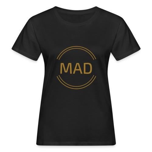 Camiseta MAD Mujer ORO - Camiseta ecológica mujer
