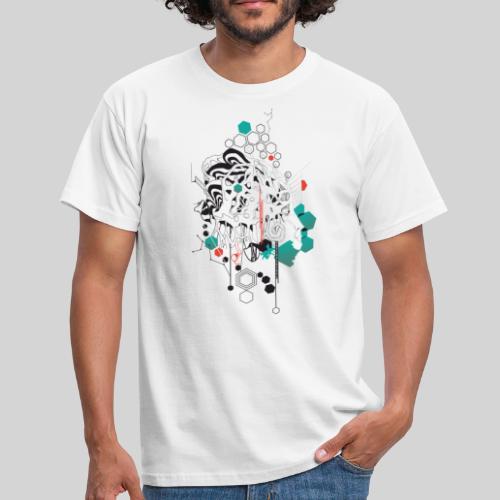 Psychedelic Face - Männer T-Shirt