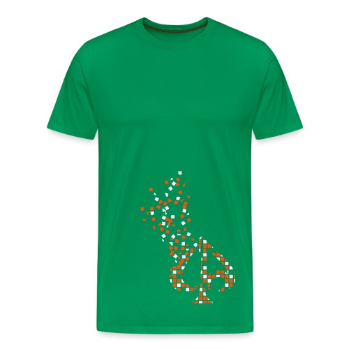 Exploding Logo - Männer Premium T-Shirt