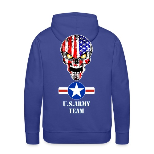 USA team - Sweat-shirt à capuche Premium pour hommes
