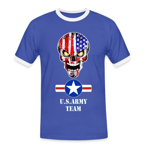 USA team - T-shirt contrasté Homme