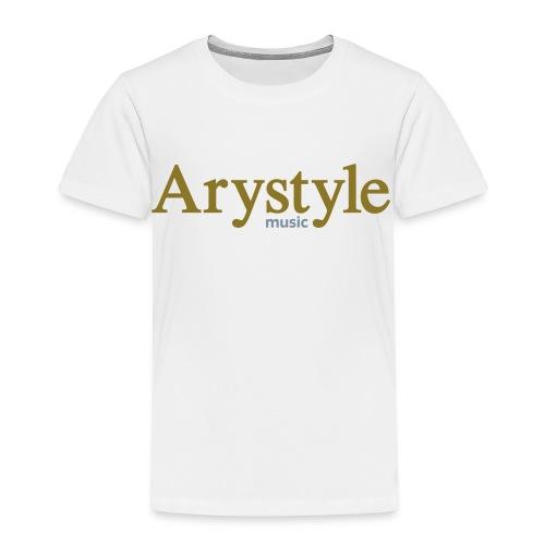 T-shirt Arystyle Or/Argent - T-shirt Premium Enfant