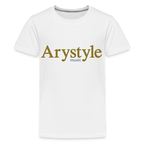 T-shirt Arystyle Or/Argent - T-shirt Premium Ado