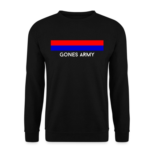 Sweat Homme Gris - GonesArmy - Sweat-shirt Homme