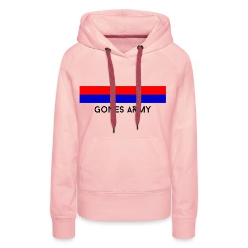 Sweat à Capuche Femme - GonesArmy - Sweat-shirt à capuche Premium pour femmes