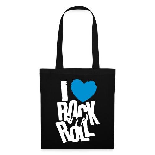 Stoffbeutel I love rock... - Stoffbeutel