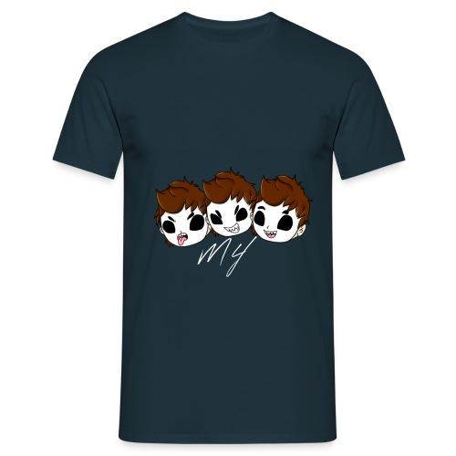 Mulitface Shirt für Männer - Männer T-Shirt