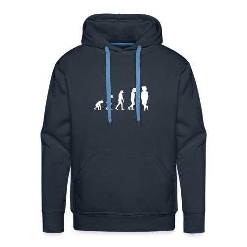 Markustery´s Evolution für Männer - Männer Premium Hoodie