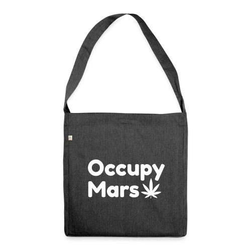 Occupy Mars - Weed Edition Mug - Shoulder Bag made from recycled material
