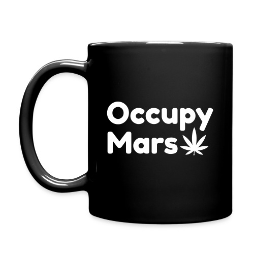 Occupy Mars - Weed Edition Mug - Full Colour Mug