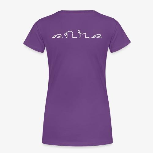 iYpsilon Shirt Katze Kuh - Frauen Premium T-Shirt