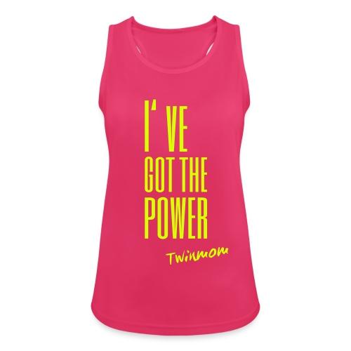 Sport Tanktop I've got the power - Twinmom - Frauen Tank Top atmungsaktiv