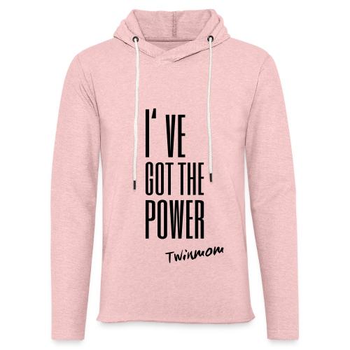 Hoodie I've got the power - Twinmom - Leichtes Kapuzensweatshirt Unisex