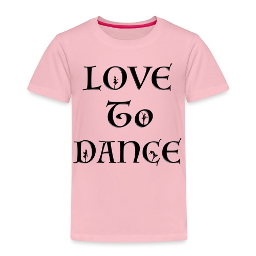 Love To Dance With Female Silhouettes  - Kids' Premium T-Shirt