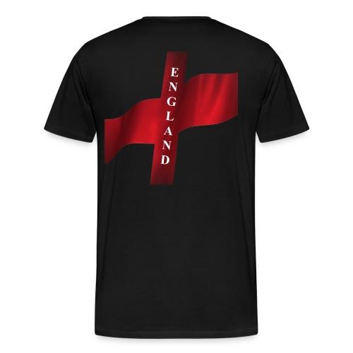 St George, England Flag - Men's Premium T-Shirt