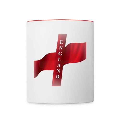 St George, England Flag - Contrasting Mug