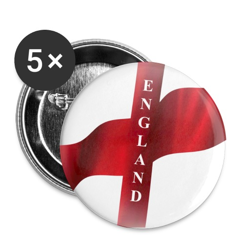 St George, England Flag - Buttons large 56 mm