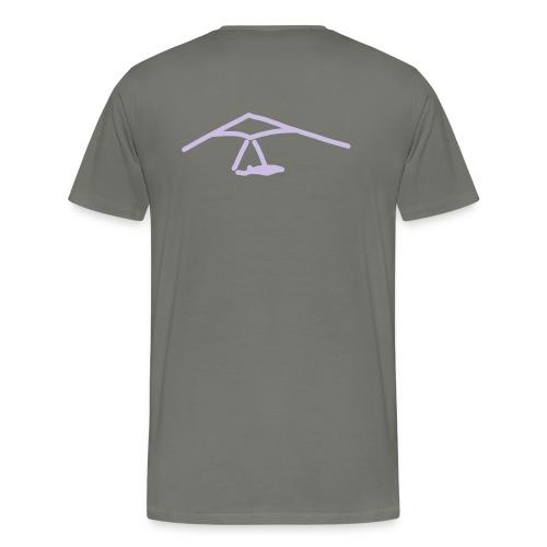 iYpsilon Drachenfliegen Shirt - Männer Premium T-Shirt