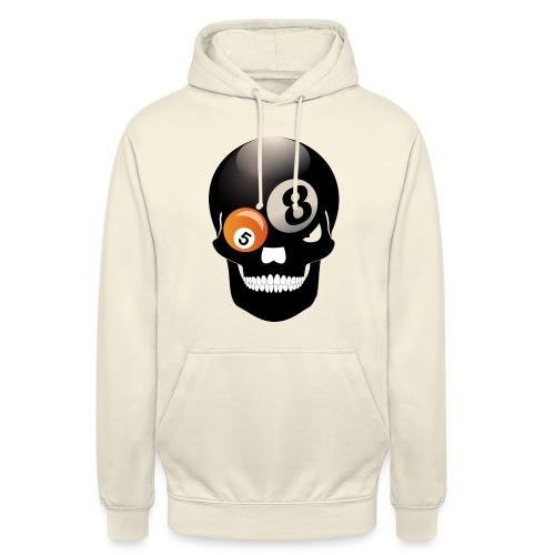 Skull 8 Ball - Unisex Hoodie