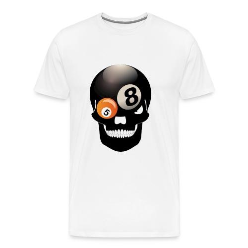 Skull 8 Ball - Männer Premium T-Shirt