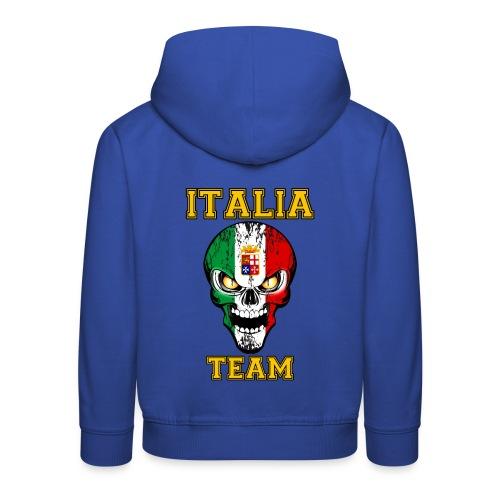 Italia team - Pull à capuche Premium Enfant