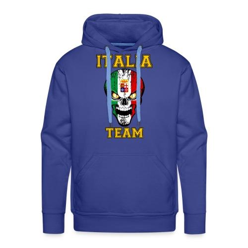Italia team - Sweat-shirt à capuche Premium pour hommes