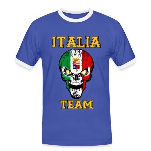Italia team - T-shirt contrasté Homme